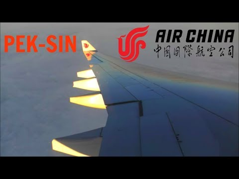 Air China Airbus A330-343E | Beijing Capital to Singapore *Full Flight*