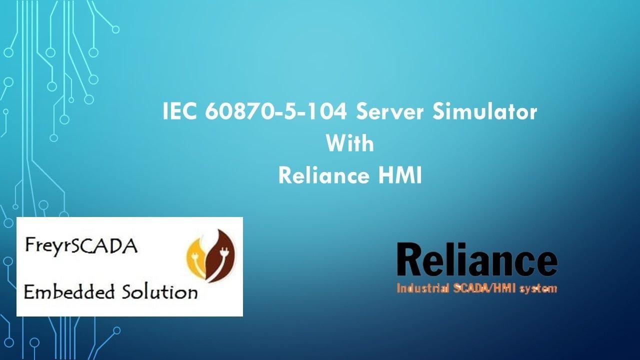 IEC 60870-5-104 Server Simulator