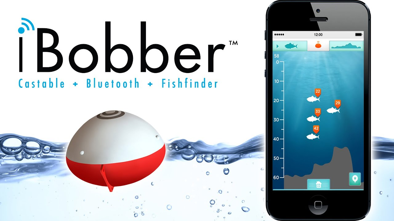 ibobber castable fish finder - sync with your smart phone or, Fish Finder