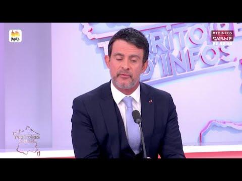 Invité : Manuel Valls  - Territoires d'infos (07/02/2018)