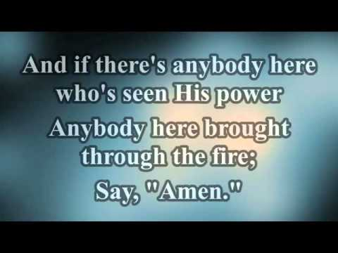 finding favour   say amen