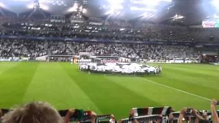 Legia - Steaua 2-2 Champions League anthem