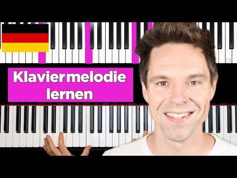 Ziemlich coole Klaviermelodie - Klavier lernen