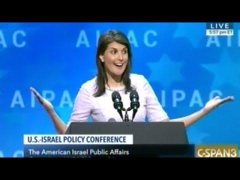 """Nikki Haley """"Israel's NOT Going Away!"""""""