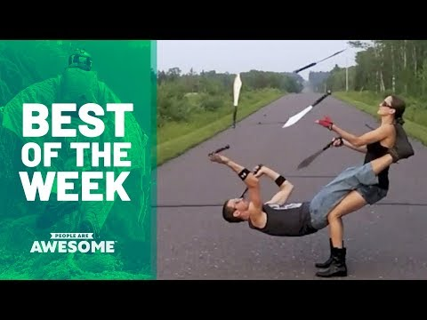 Best of the Week: Juggling Knives, Trick Shots & More | People Are Awesome