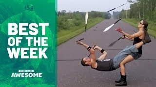 Juggling Knives, Trick Shots & More | Best of the Week Video
