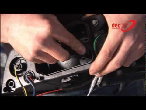DECTANE Tagfahrlicht-Optik Scheinwerfer Skoda Octavia II 04-09 - YouTube