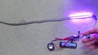 Arduino Beetle and Mini MP3 player Lightsaber DIY