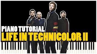 Coldplay - Life In Technicolor II (Piano Tutorial Synthesia)