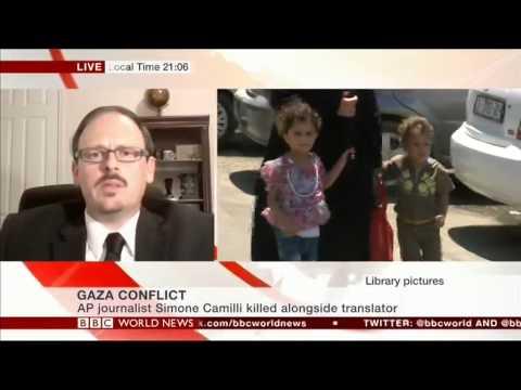 Dr Kevin Grisham Gaza Conflict Aug 13 2014