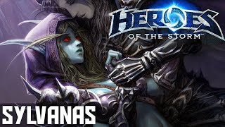 Heroes Of The Storm (Gameplay) - Sylvanas - Possession Builds! - Gameplay/Guide