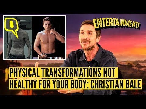 Christian Bale Says He's Almost Done With Physical Transformations