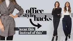 HOW TO ALWAYS LOOK STYLISH AT WORK | 12 TIPS