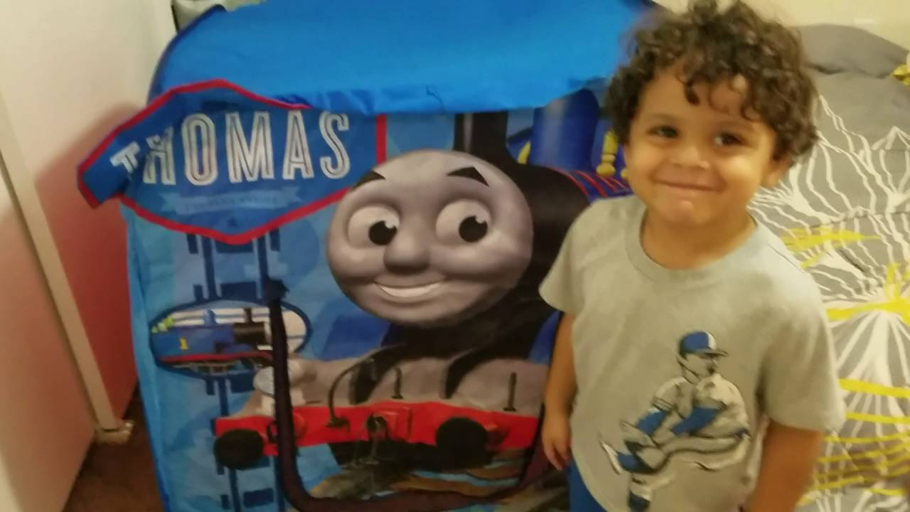 Thomas and Friends Hide and Play Tent  sc 1 st  YouTube & Thomas and Friends: Hide and Play Tent - YouTube