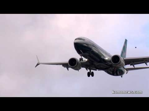 Boeing 737 MAX First Flight KOMO News