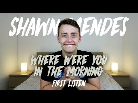 Shawn Mendes | Where Were You In The Morning? (First Listen)
