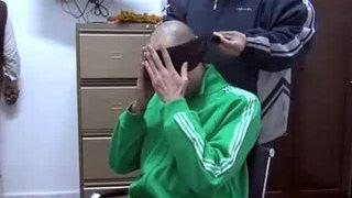 Видео издевательств над сыном Каддафи