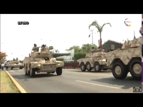 Mexico: Civic Military Parade 5-2-17