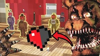 ESCAPA DEL ANIMATRÓNICO EN MINECRAFT! 😨 EL ESCONDITE #4 (FNAF MINECRAFT)