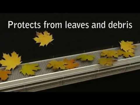 gutter stark le pare feuilles efficace contre les d br doovi. Black Bedroom Furniture Sets. Home Design Ideas