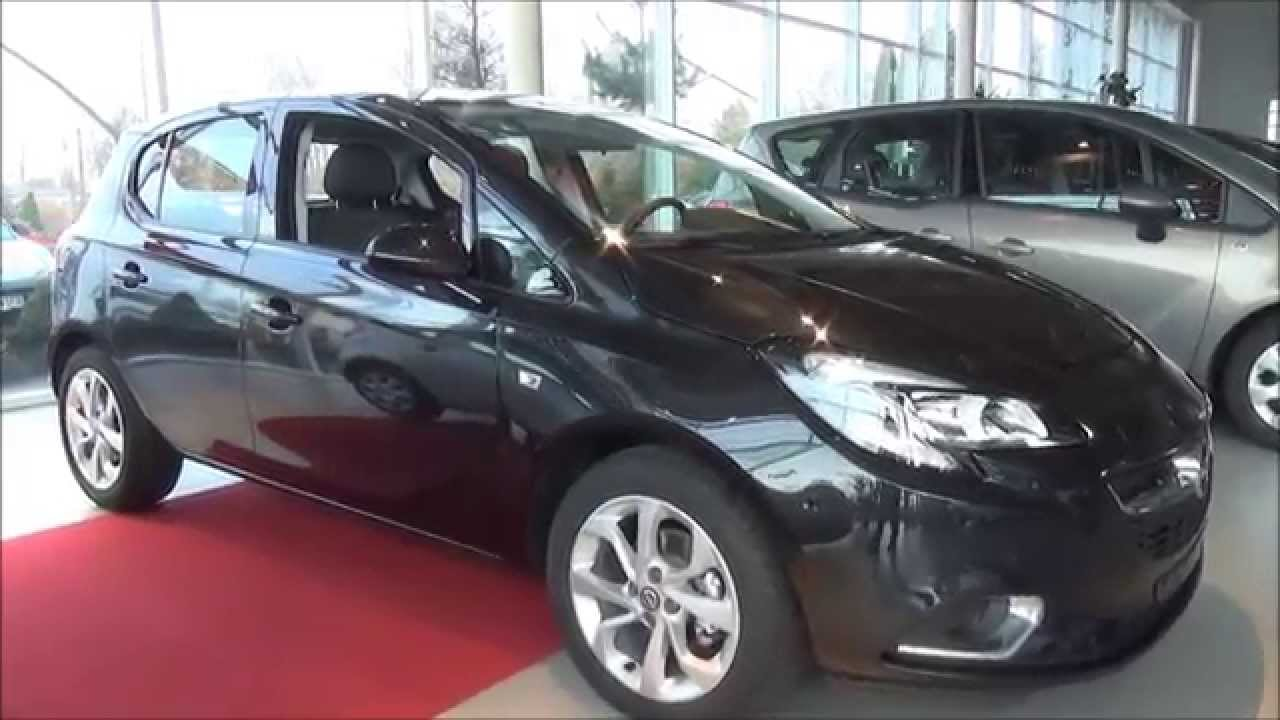 new opel corsa color edition 1 4 75km 2015r youtube. Black Bedroom Furniture Sets. Home Design Ideas