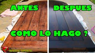 Exteriores madera pintura