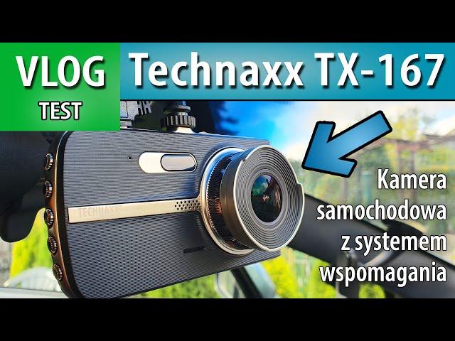 TEST ➤Technaxx TX-167 kamera samochodowa (recenzja)