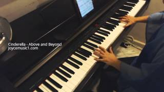 Cinderella Trailer Music - Audiomachine - Above and Beyond - Piano cover & Sheets