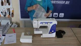 видео Швейная машинка Leader Vs 375