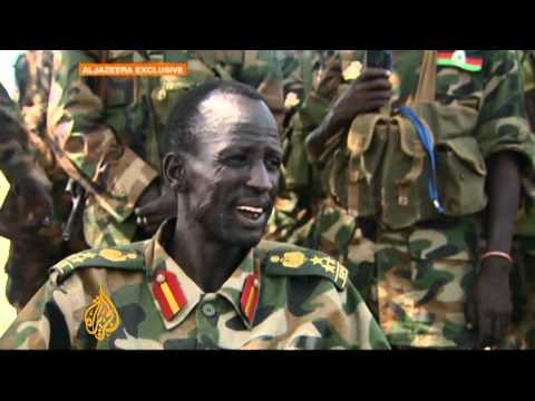 On the frontline with South Sudan's army