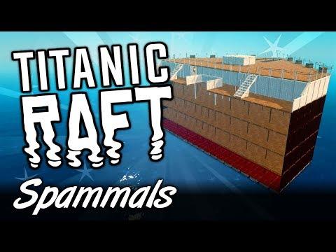 Raft Creative | Part 5 | BUILDING TITANIC!
