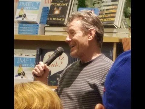 Bryan Cranston-Powell's Bookstore Q&A