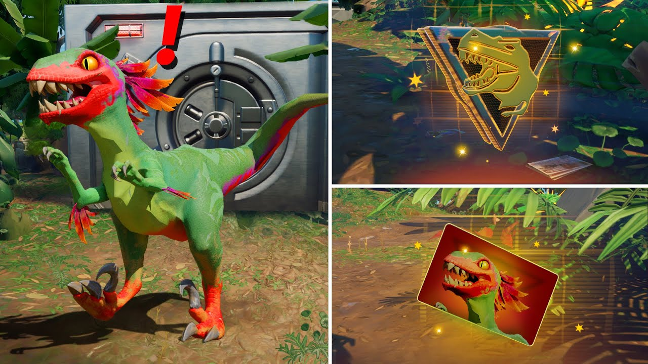Download ALL NEW Bosses, Mythic Weapons & Keycard Vault Locations (Boss Dinosaur, Raptor, Rex)