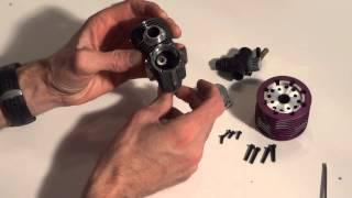 Tutoriel vidéo: Comment désassembler et vérifier l'état d'un moteur nitro