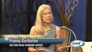 TALK OF THE TOWN | Franny Gerthoffer, HH Humane | 9-8-2015 | Only on WHHI-TV