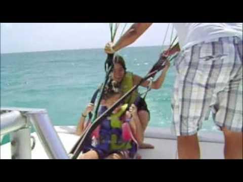 High - Flying in the Aruba Sky