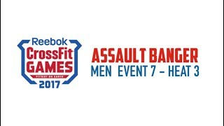 Assault Banger Men Event 7  Heart 3 Crossfit Games 2017