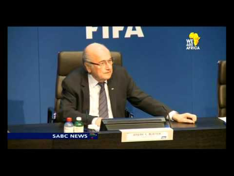 FIFA's Sepp Blatter holds first press conference