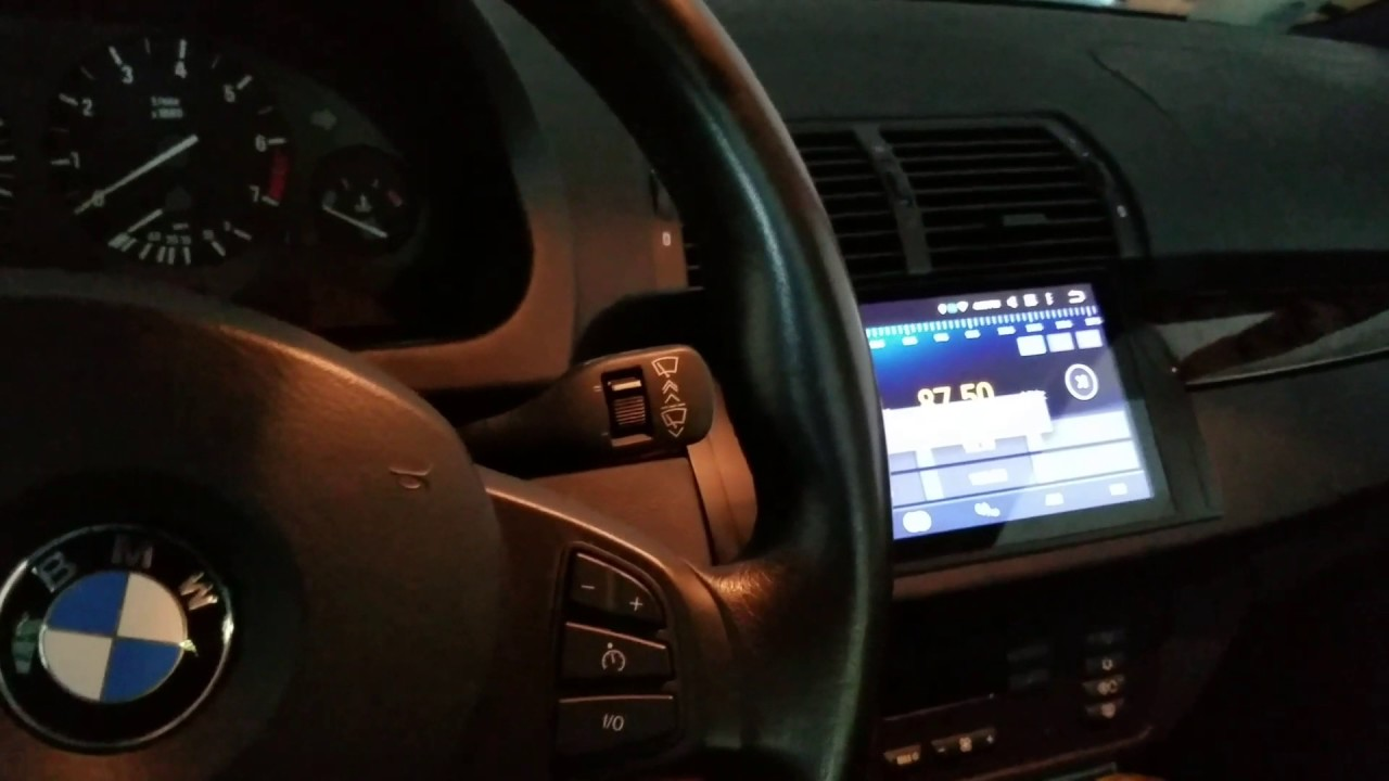 bmw e53 android radio wires and quick update youtube