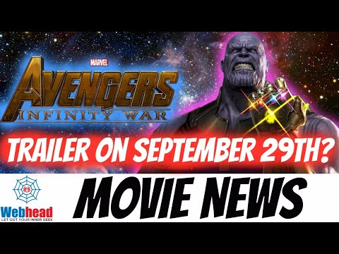 Avengers Infinity War Trailer to Debut with Inhumans Premiere?!? Webhead Movie News Ep.1