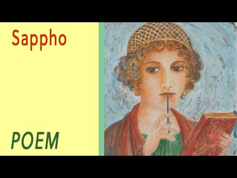 Sappho by Christina Rossetti VOICE