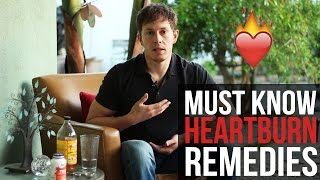 Heartburn Remedies + The REAL CAUSE of Acid Reflux or GERD