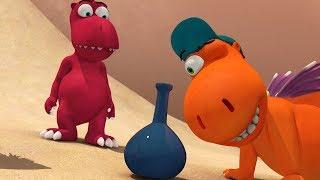 Мультики для детей - Кокоша, маленький дракон - Джинн в бутылке - Серия 37