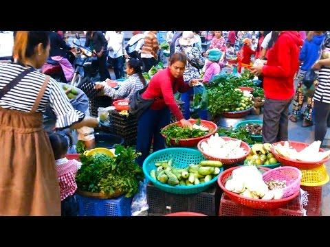 Amazing Market People - Street Marketplace In My Village - Market Fresh Food