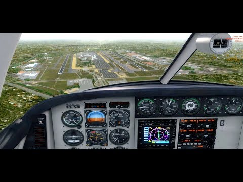 [P3D] Buckeyes Only !!!! Review of Bolton Field & Port Columbus Airport Sceneries