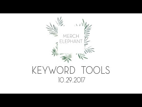 Merch By Amazon Alternative Keyword Tools Both Free and Paid