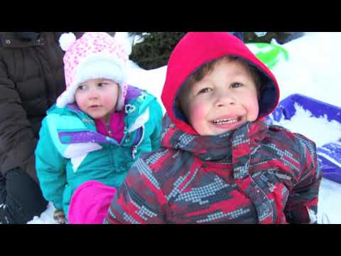 Winter at Grace Christian Preschool