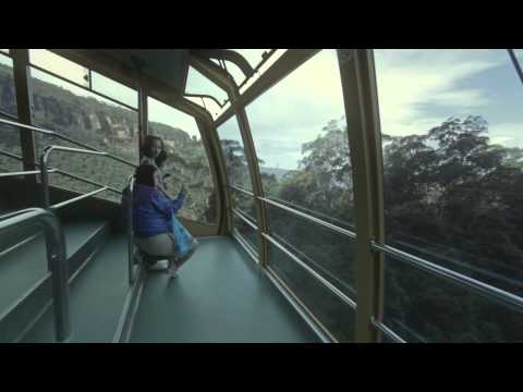 Scenic World Interactive Adventure - Scenic Cableway down to Jamison Valley