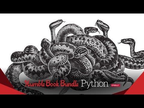 Humble Python Books by O'Reilly Bundle