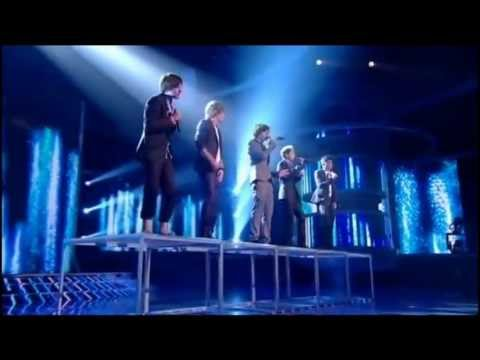 One direction All performance in The X factor